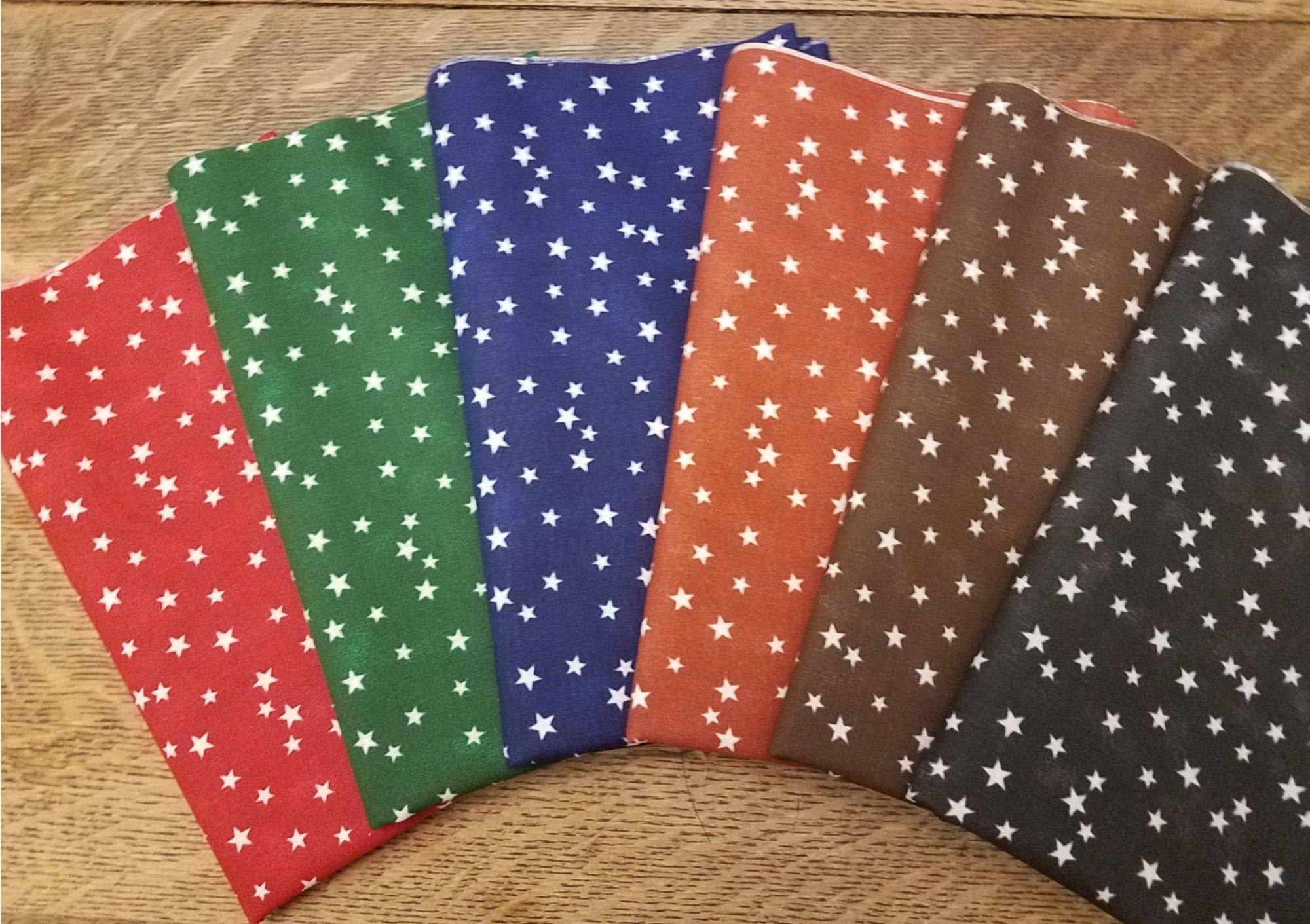 Random Stars - Rachael's Picks - 6 Piece Half Yard Bundle Pack
