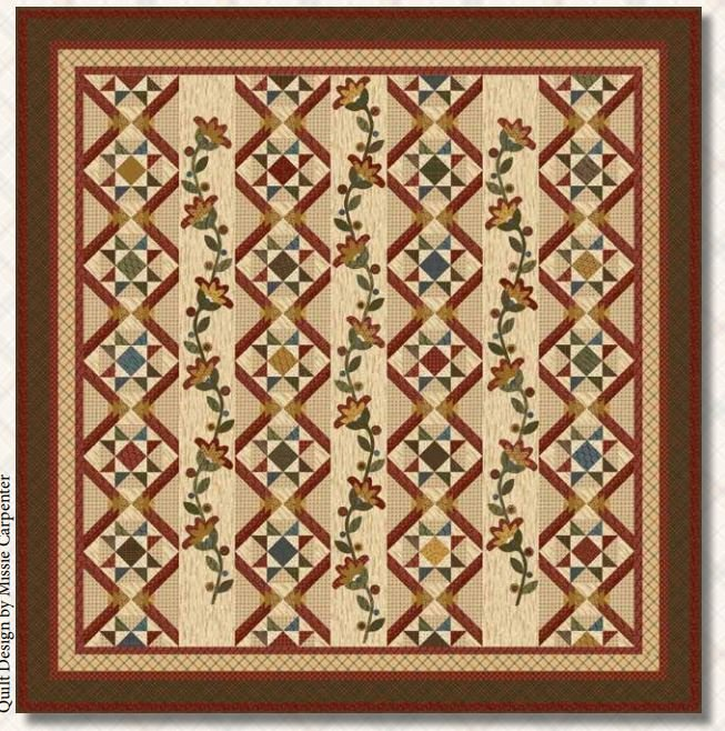 Rustic Homestead Quilt - FREE Pattern by Blank Quilting