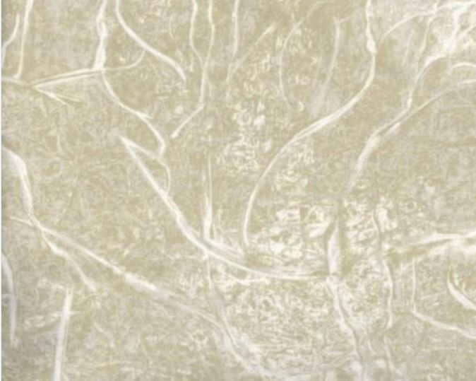 3 Yard Backing Piece: 108 Wide Tan Branches in the Woods in a single 3 yard piece