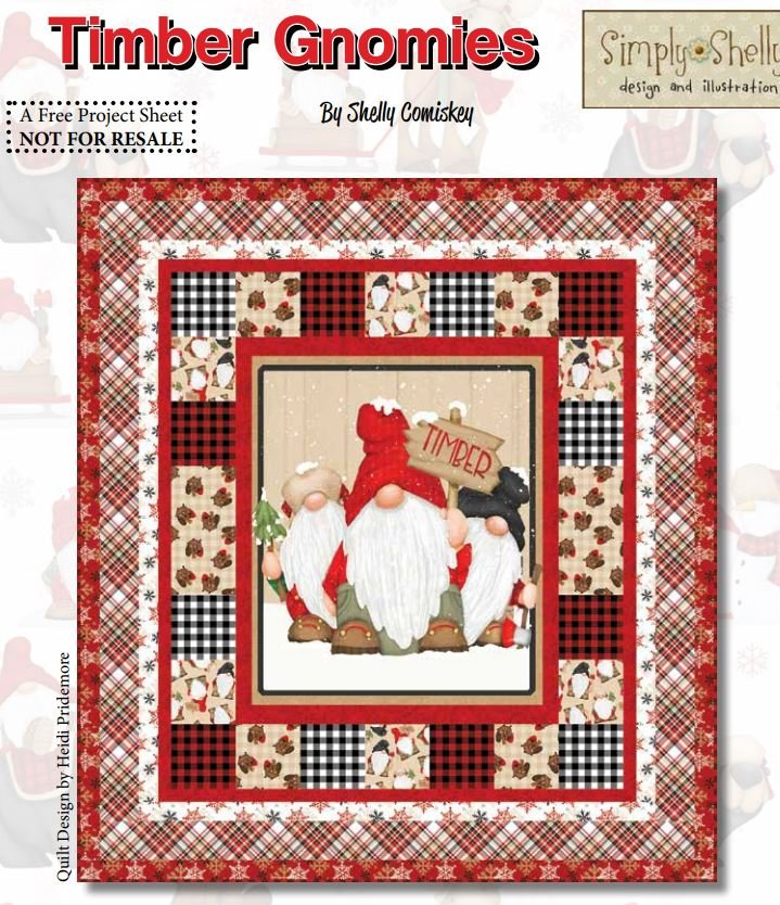 Timber Gnomies Quilt - FREE Quilt Pattern by Henry Glass Fabrics