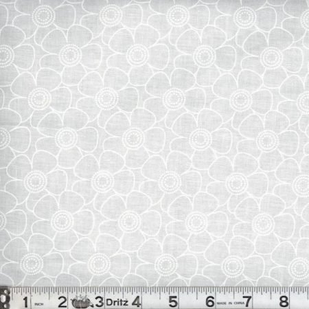 All Varieties of White on White 108 Wide Backing Fabric