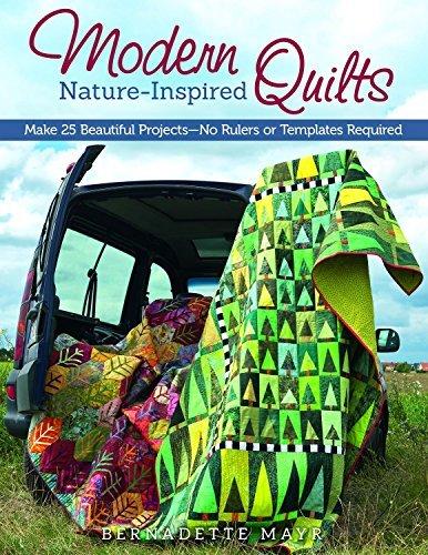 Modern Nature-Inspired Quilts by Bernadette Mayr