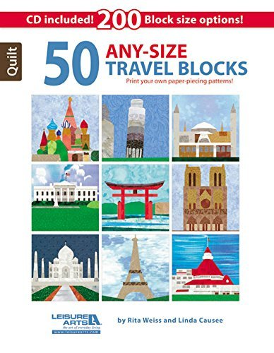 50 Any Size Travel Qlt Blk W/CD by Rita Weiss and Linda Causee
