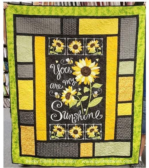 Digital Pattern Download: You are My Sunshine Digital Pattern - By Becky Tillman Petersen