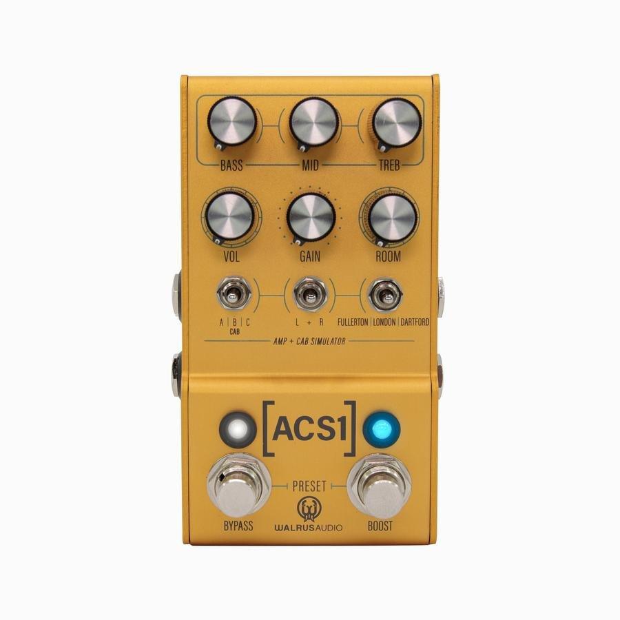 Walrus Audio MAKO Series: ACS1 Amp + Cab Simulator