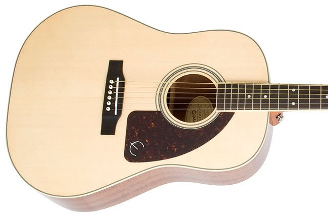Epiphone AJ220S Solid Spruce Top Jumbo - Natural