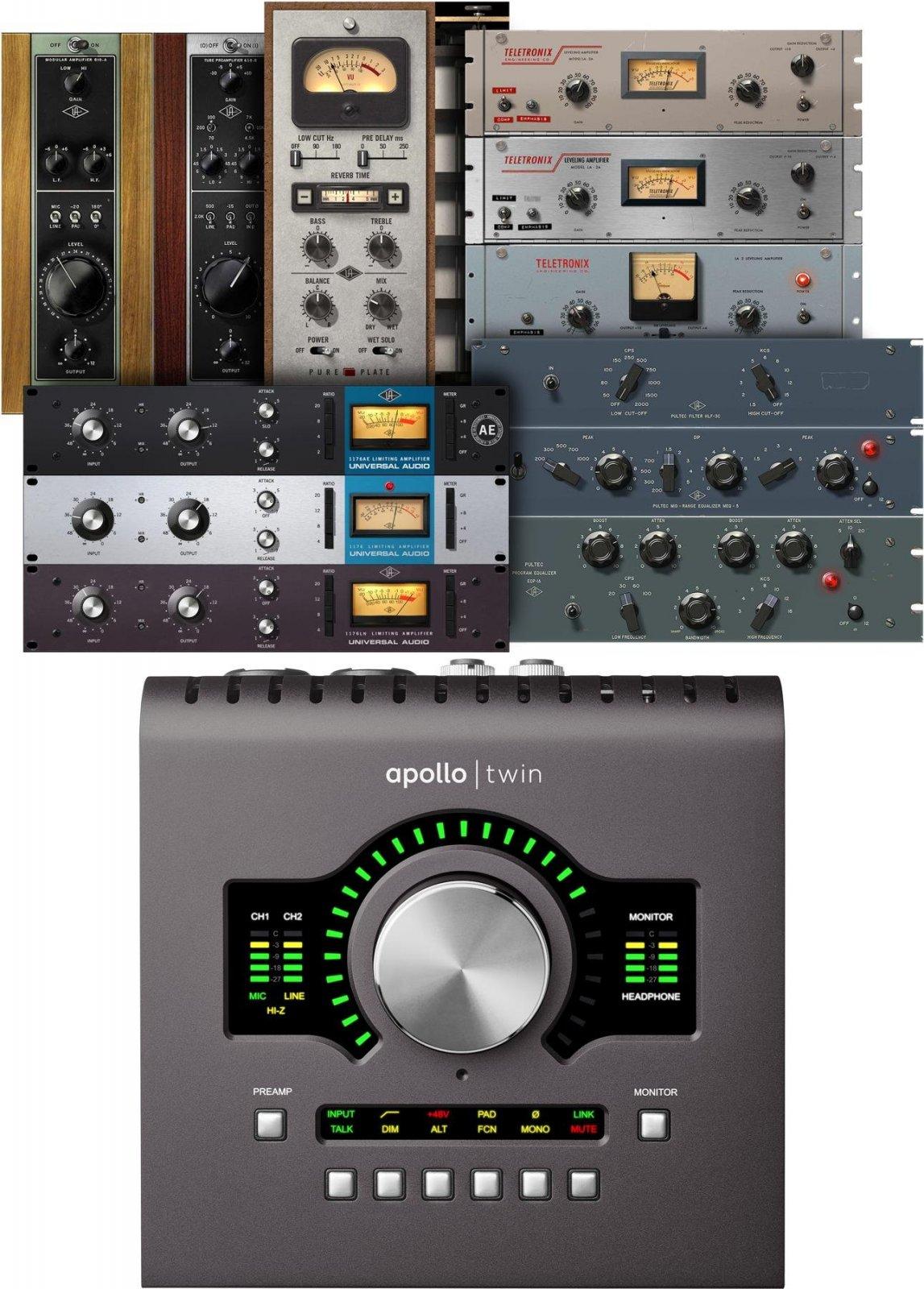 Universal Audio Apollo Twin MkII DUO Audio Interface - Heritage Edition
