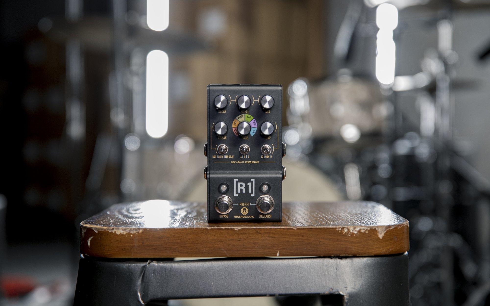 Walrus Audio MAKO Series: R1 High-Fidelity Stereo Reverb In Stock!