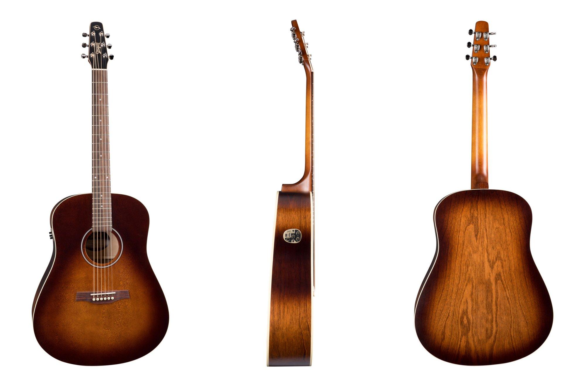 Seagull Guitars S6 Original Burnt Umber QIT Acoustic/Electric Guitar