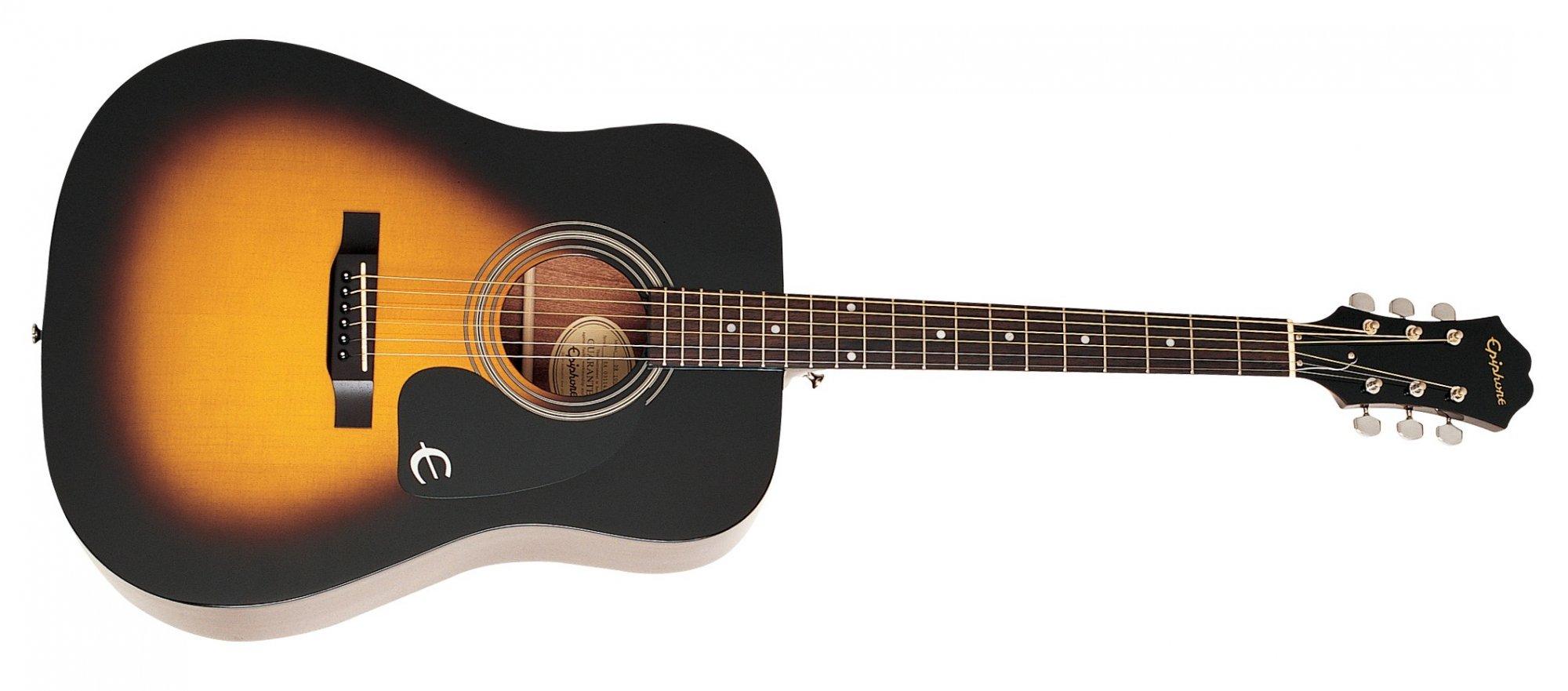 Epiphone DR-100 Acoustic - Vintage Sunburst
