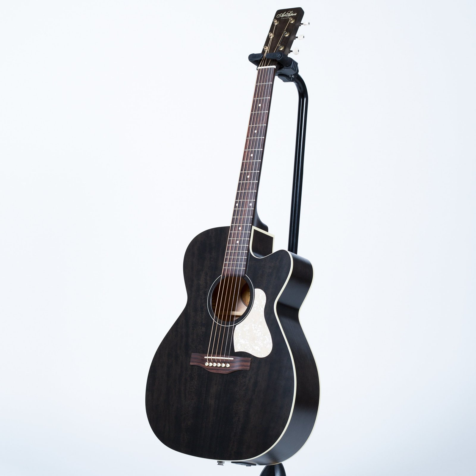 Art & Lutherie Legacy Concert Hall Cutaway Acoustic-Electric Guitar - Faded Black