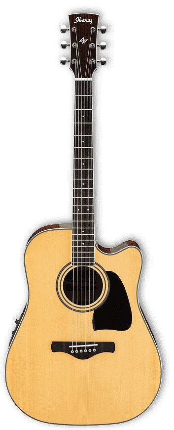 Ibanez AW70ECE Dreadnought Acoustic-Electric Guitar
