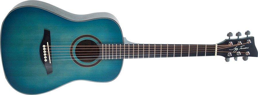 Jay Turser 1/2 Acoustic Guitar, Satin Blue
