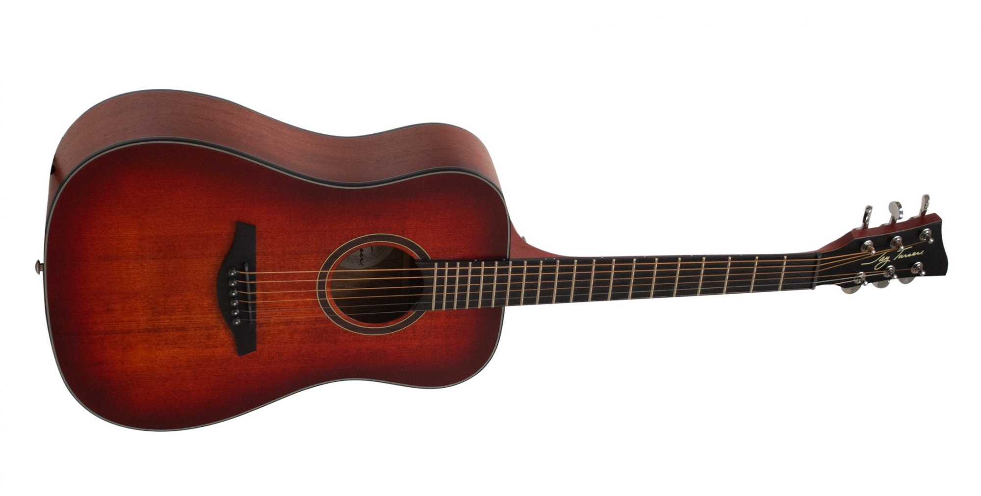 Jay Turser 3/4 Acoustic Guitar, Satin Red