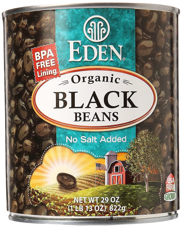 Organic Black Beans 29 oz