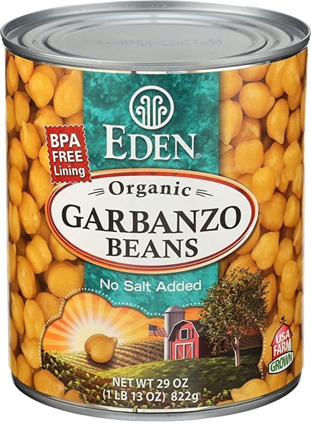 Organic Garbanzo Beans 29 oz