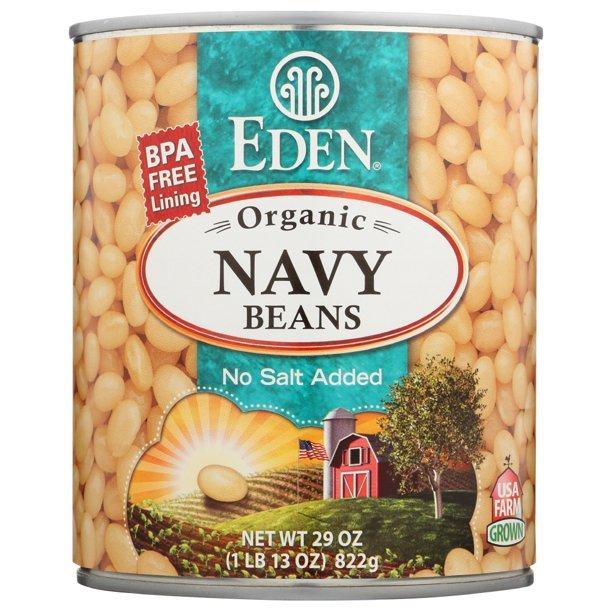 Organic Navy Beans 29 oz
