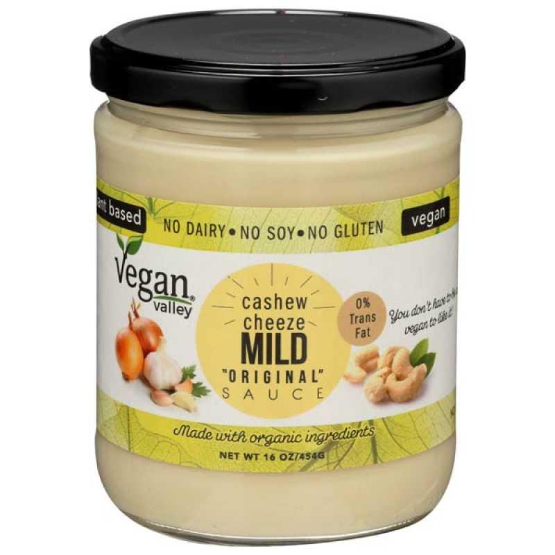 Vegan Valley Mild Sauce 16 oz