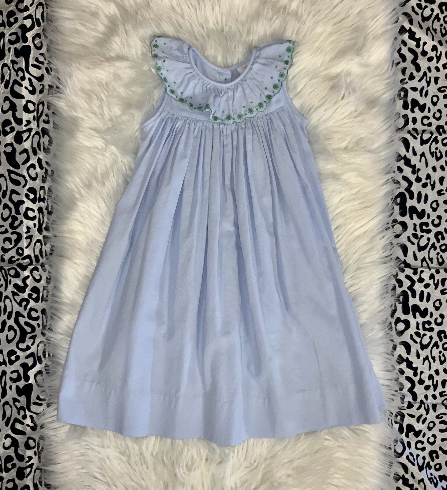 THE PROPER PEONY DRESS NS BLUE SIZE 6