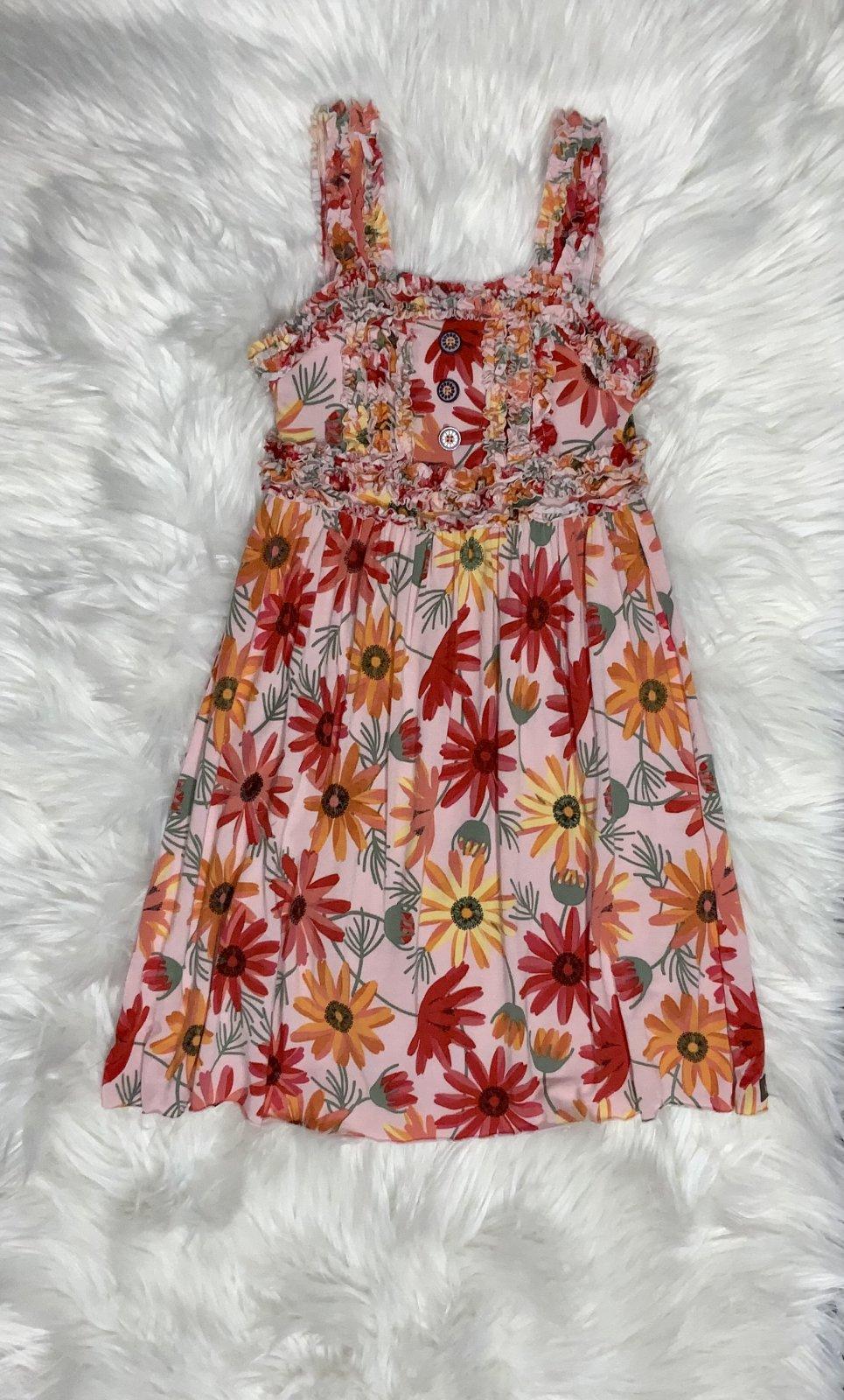 MATILDA JANE DRESS PINK FLORAL NS SIZE 6