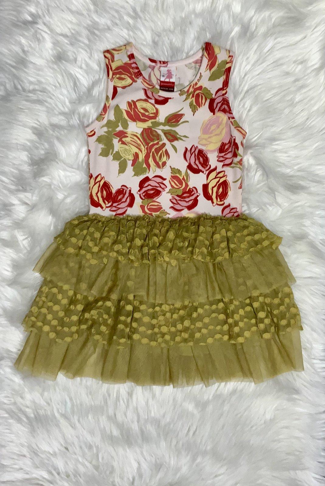 MATILDA JANE DRESS NS FLORAL SIZE 6
