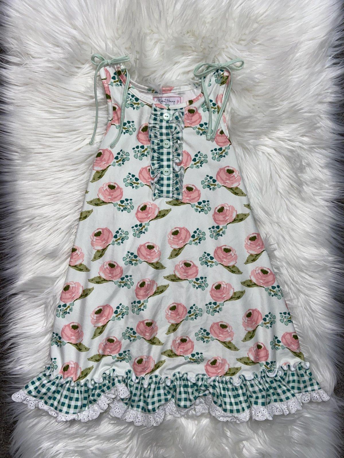 SWEET HONEY DRESS NS FLORAL SIZE 8