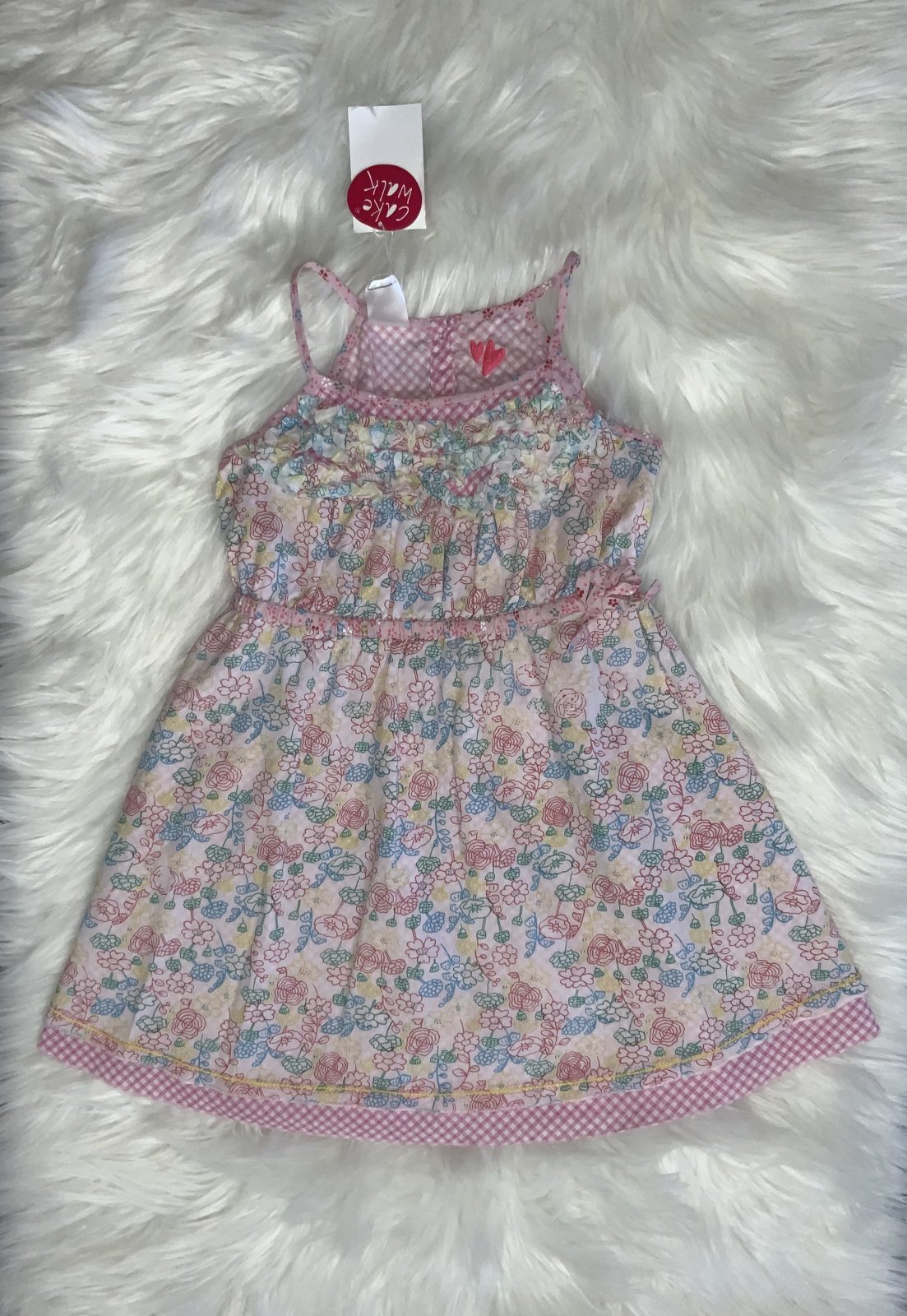 CAKEWALK DRESS NS NWT FLORAL SIZE 6