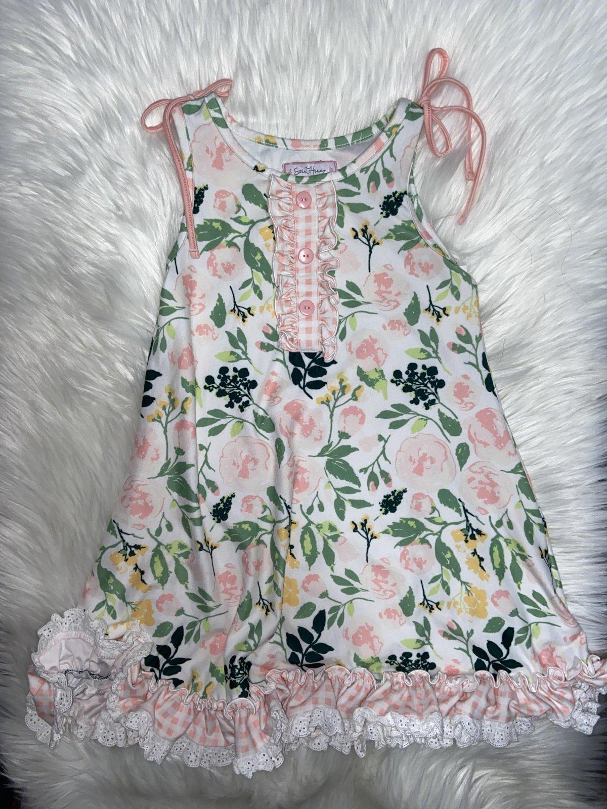 SWEET HONEY DRESS FLORAL SIZE 8