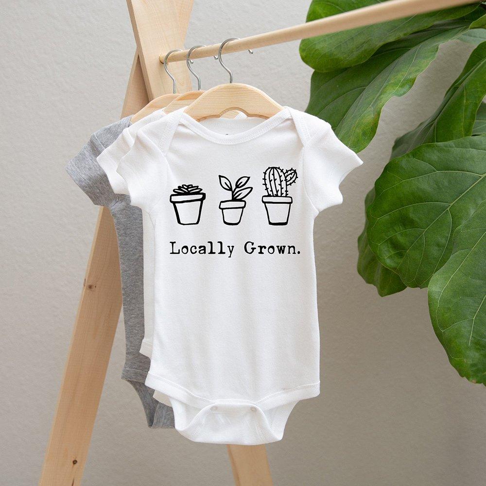 Short Sleeve Bodysuit Locally Grown