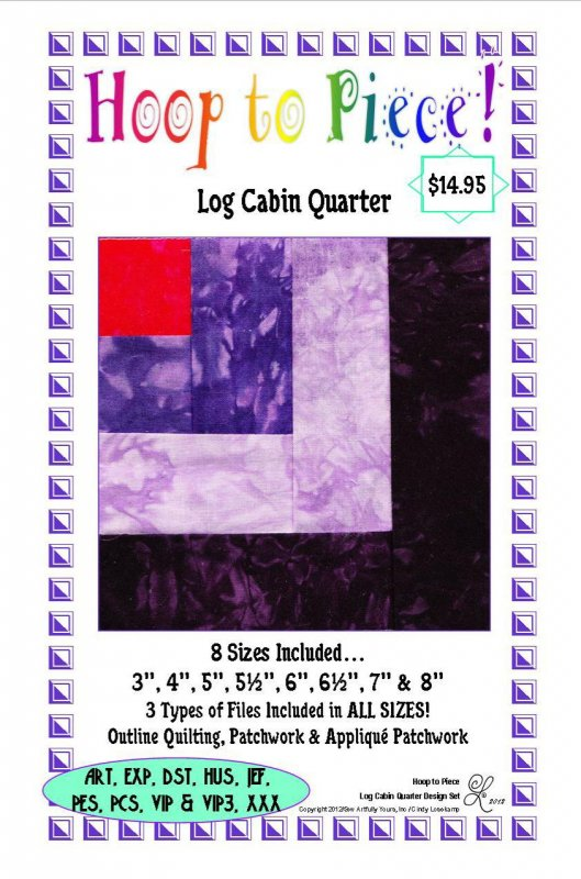 Log Cabin Quarter