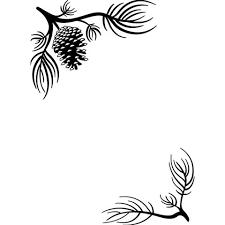 Embossing Folder, 4.25x5.75- Pine Corners