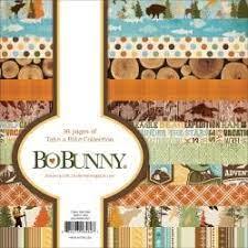 BoBunny Single-Sided Paper Pad 6X6 36/Pkg, Take a Hike 12 Designs/3 Each - copy