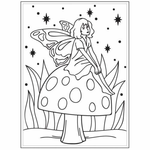 Embossing Folder, 4.25x5.75-Fairy