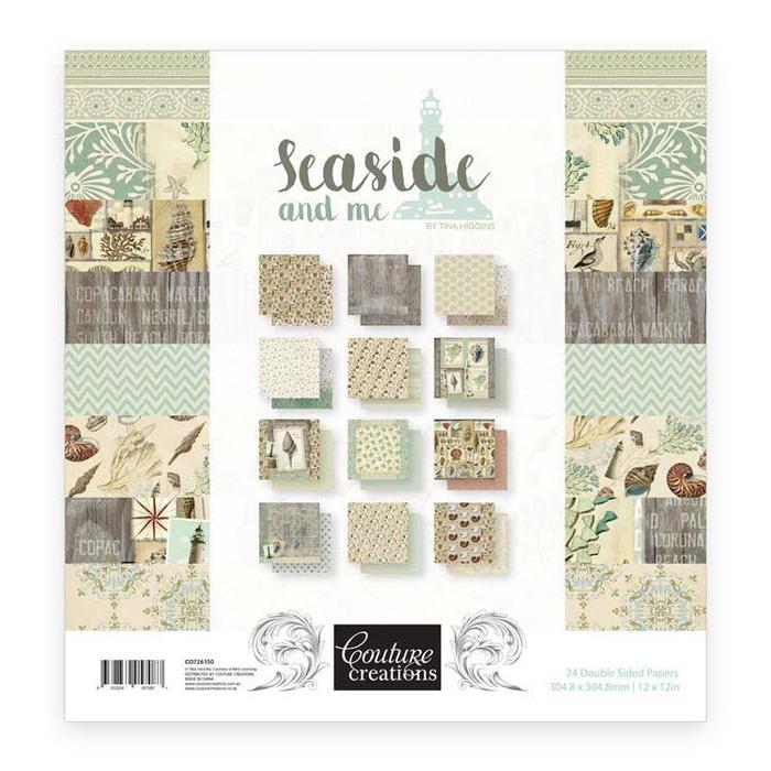 Seaside & Me - 12 x 12 in Paper Pad