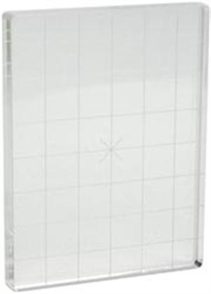 Acrylic Block - 3 X 4 W/Grid
