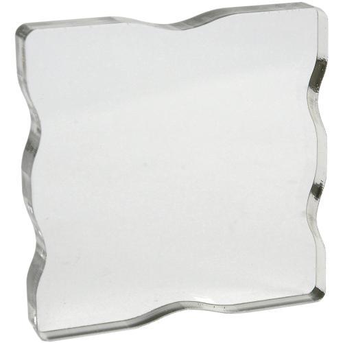 Acrylic Block 2.25 X 2.25 W/Grips