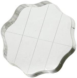 Acrylic Block 2.5 Round W/Grips