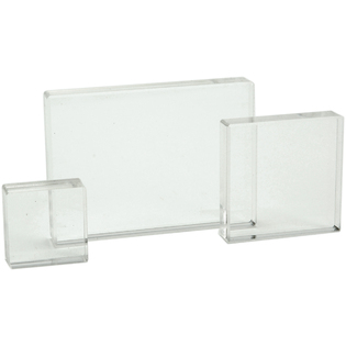 Acrylic Block Set 1.25, 2, 2.5x3.