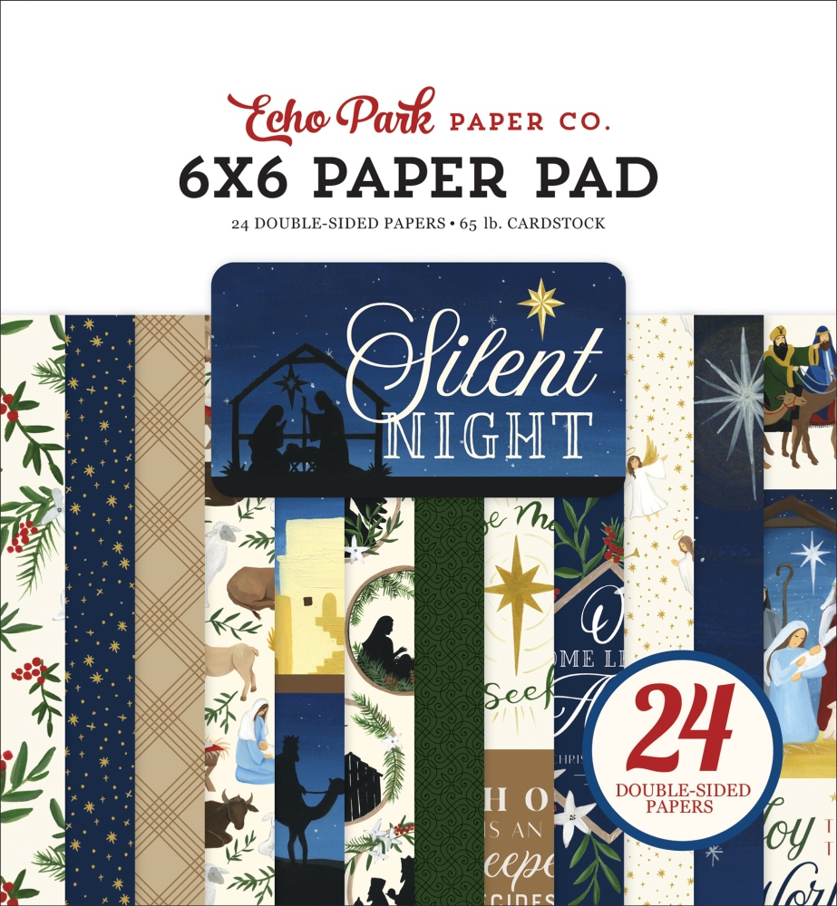 6X6 Paper Pad, Silent Night