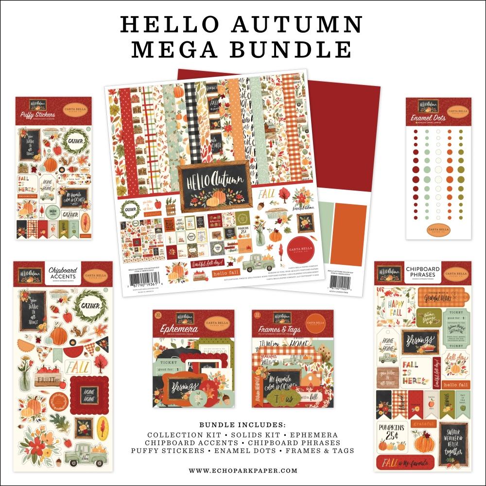 Mega Bundle, Hello Autumn
