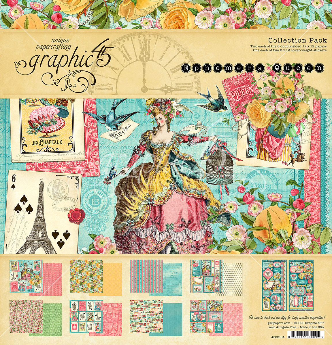 12X12 Collection Pack, Ephemera Queen