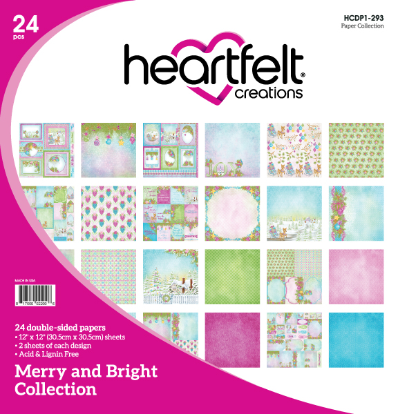 12X12 Paper Collection, Merry and Bright