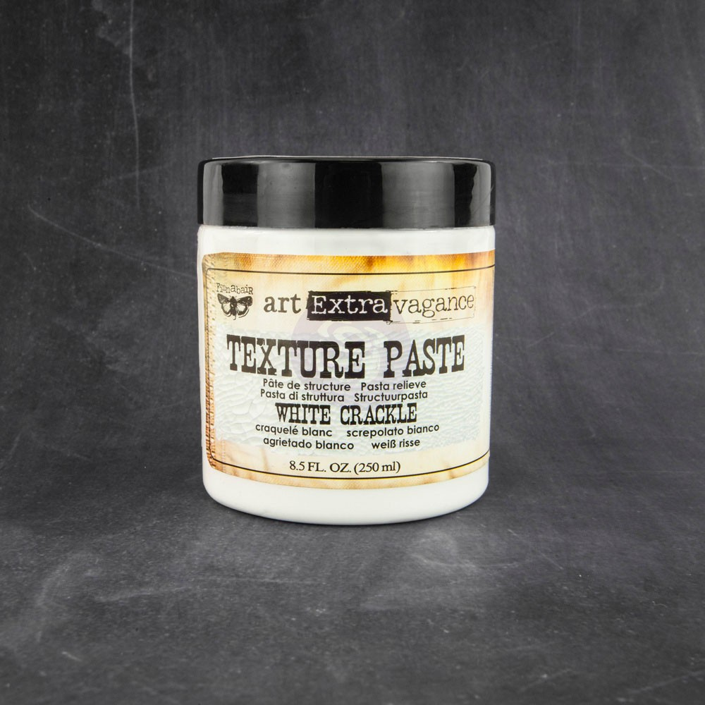 Art Extravagance, Texture Paste, Crackle - White