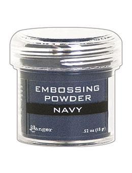 Embossing Powder, Navy Metallic