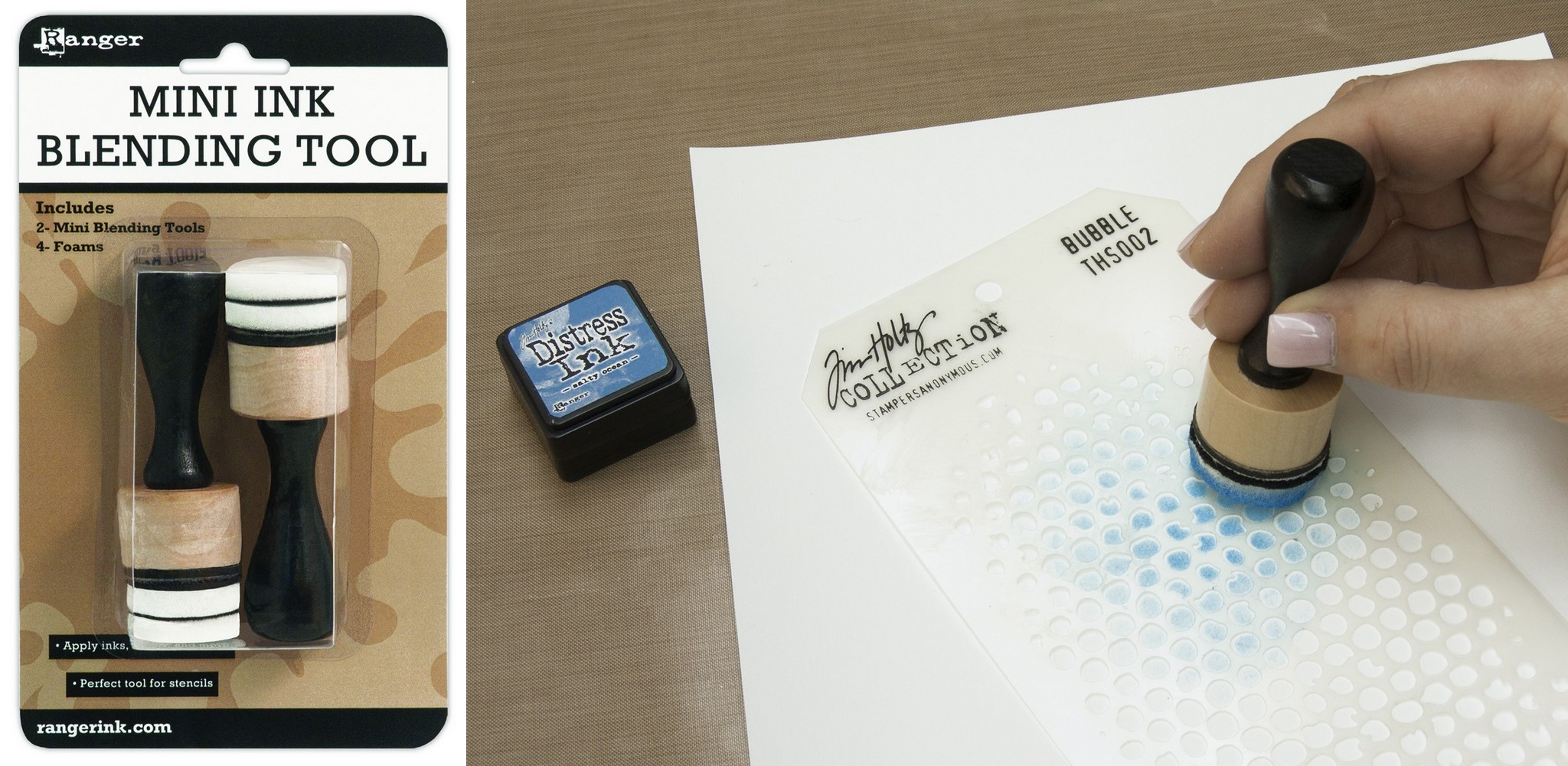 Inkssentials Mini Ink Blending Tool 1 Round