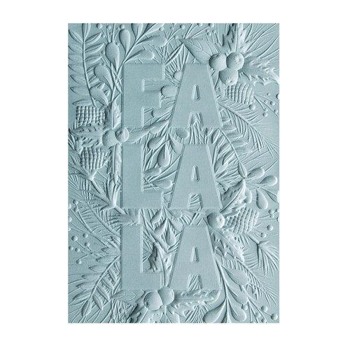 Folder, Textured Impressions 3D, Fa La La