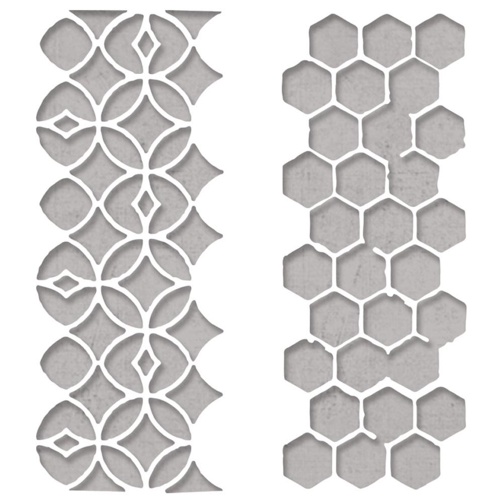 Thinlits Die Set, Pattern Repeat (2pk)