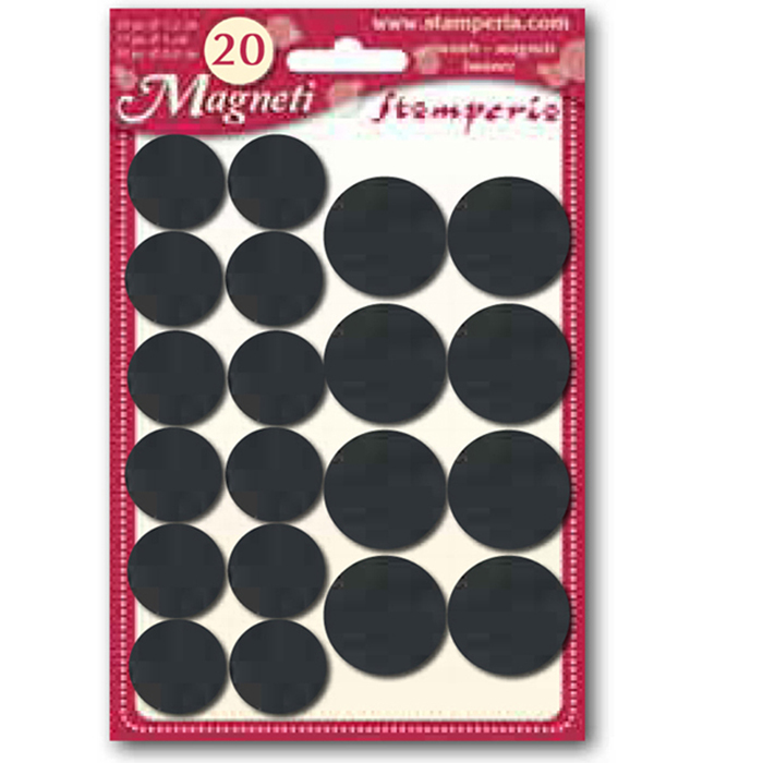 Magnets, 2 Sizes (20pc, 1.8/2.5cm)