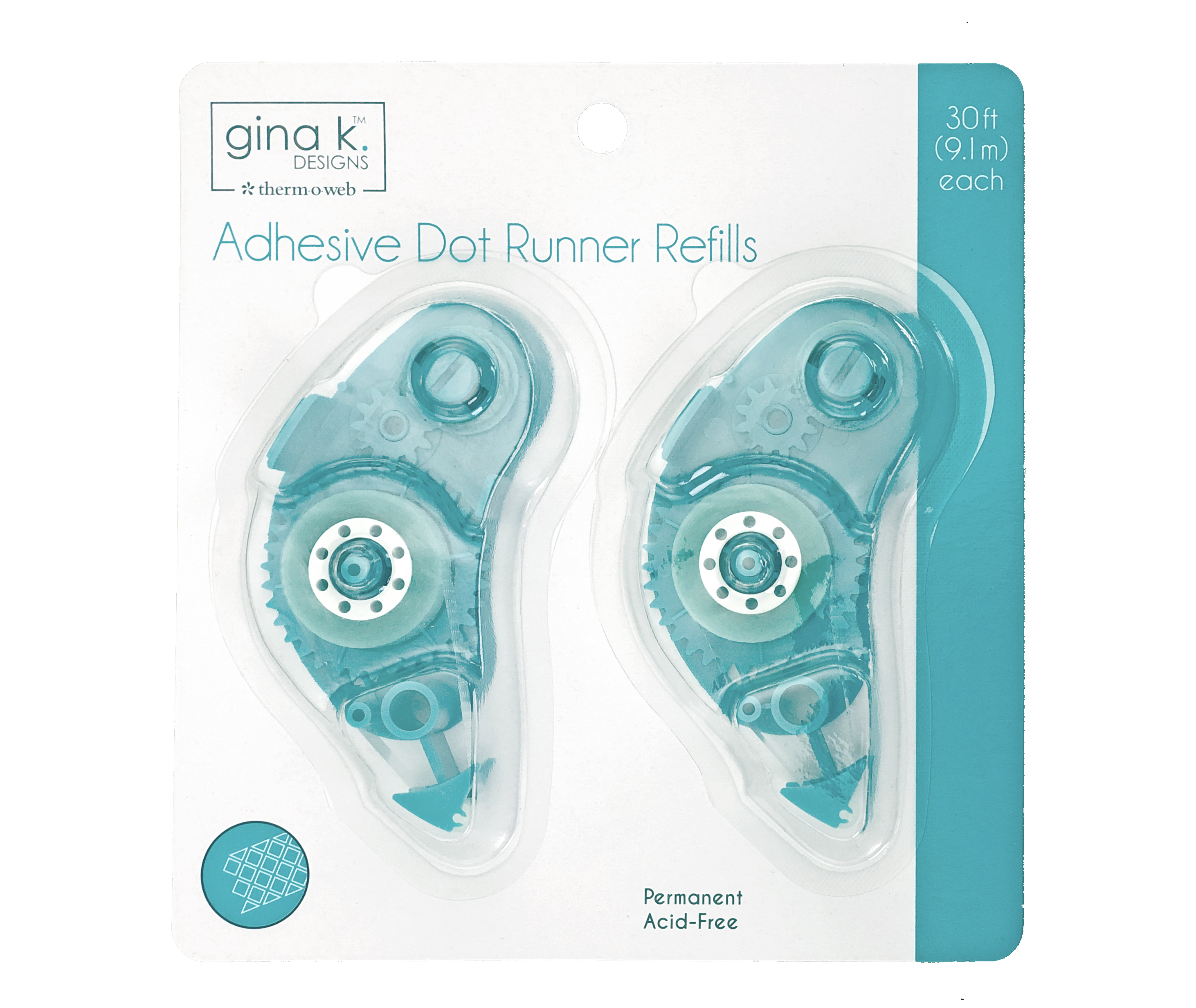 Adhesive Dot Runner, Refill (2 pack)