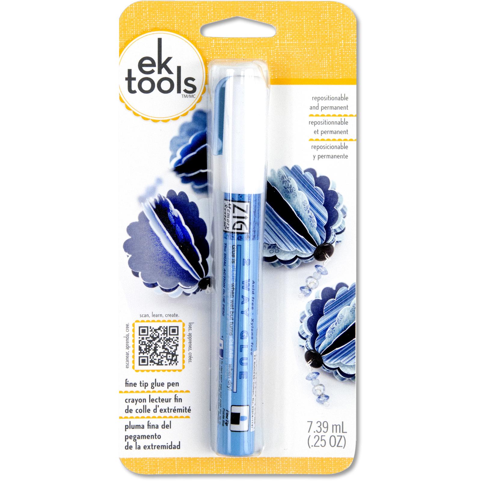 2-Way Glue Pen, Fine Tip